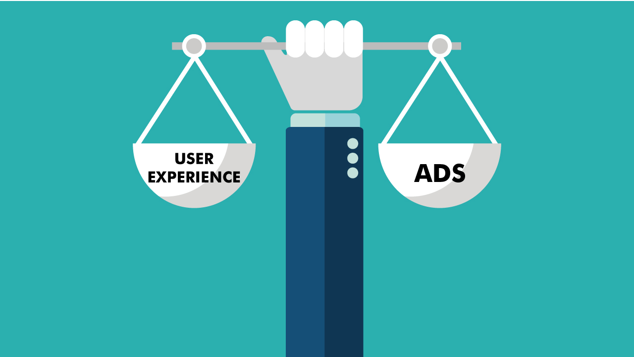How to Find the Right Balance between User Experience and Ads?